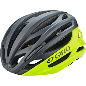 Giro Syntax MIPS Fietshelm, highlight yellow/black